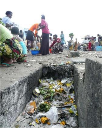 A Bandalungwa et Ngiri-Ngiri, certains Kinois vivent en pleine poubelle.